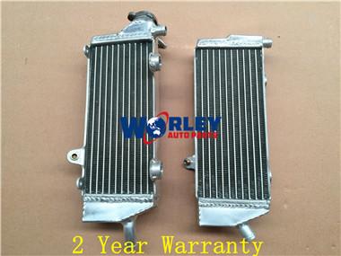 Aluminum Radiator KTM 250//350//450//500//530 EXC-F//EXC-R//XC-W//XCF-W 2008-2015 R/&L
