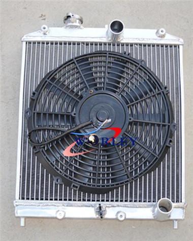 ALUMINUM RADIATOR for Honda Civic EK EG D15 D16 28MM PIPE1992-2000