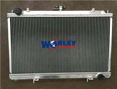 FOR 52MM NISSAN SILVIA S14 S15 SR20DET 240SX 200SX ALUMINUM RADIATOR/&Shroud/&FANS